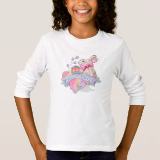 Easter Bunny and Eggs ID377 T-Shirt