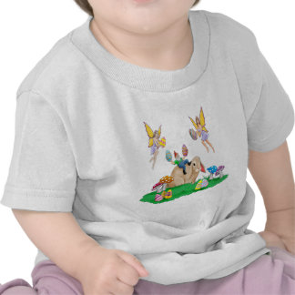 Easter Bunny And Friends Tee Shirt