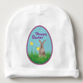 Easter Bunny Baby Beanie