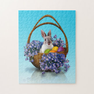 Easter Bunny Basket Puzzle