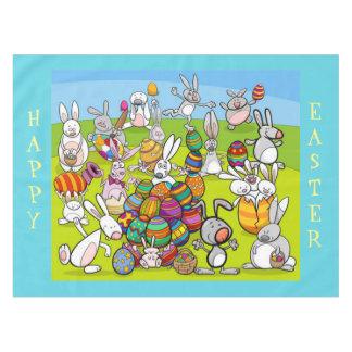Easter Bunny Big Egg Hunt Tablecloth