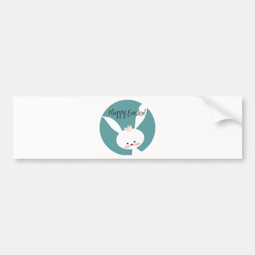Easter Bunny Bumper Stickers