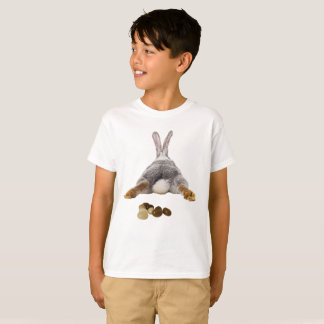 Easter Bunny Butt Tail Funny Poop Jelly Beans T-Shirt
