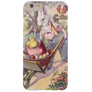 Easter Bunny Chick Colored Egg Barely There iPhone 6 Plus Case
