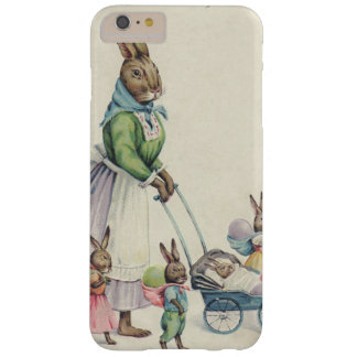 Easter Bunny Children Colored Egg Barely There iPhone 6 Plus Case