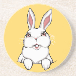 Easter Bunny Coasters Cute Rabbit Gifts