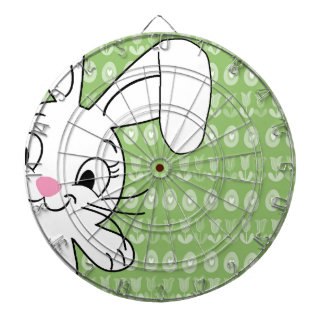 Easter bunny dartboard