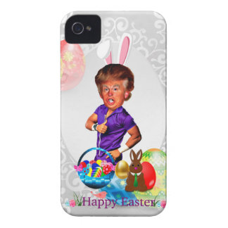 easter bunny donald trump iPhone 4 Case-Mate case