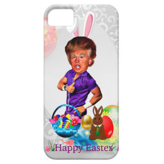 easter bunny donald trump iPhone 5 cover