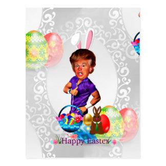 easter bunny donald trump postcard