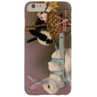 Easter Bunny Easter Basket Flowers Floral Cart Barely There iPhone 6 Plus Case