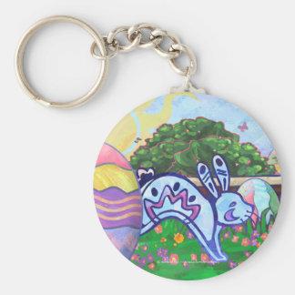 Easter Bunny Easter Egg Hunt Key Chain