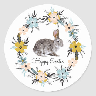 Easter Bunny Easter Gift Stickers