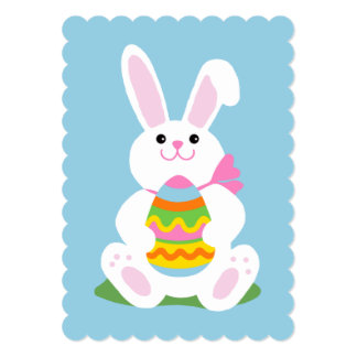 Easter Bunny ~ Egg Hunt 13 Cm X 18 Cm Invitation Card