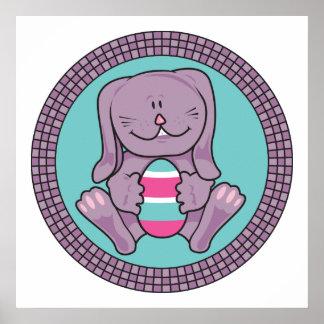 Easter Bunny Egg Print
