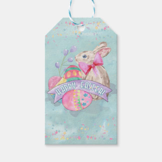 Easter Bunny, Eggs and Confetti ID377