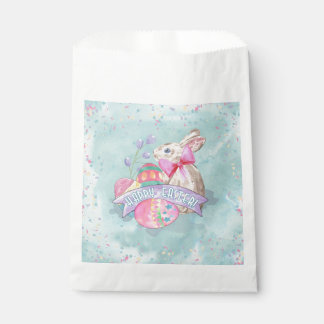 Easter Bunny, Eggs and Confetti ID377 Favour Bags