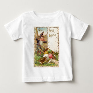 Easter Bunny Gnome Painted Colored Egg Tshirt
