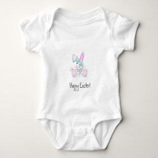 "Easter Bunny ""Happy Easter"" Baby Bodysuit"