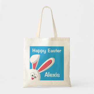 Easter Bunny Happy Easter Egg Hunt Customize Tote
