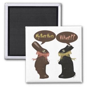 Easter joke gifts on zazzle au easter bunny humour magnet negle Choice Image
