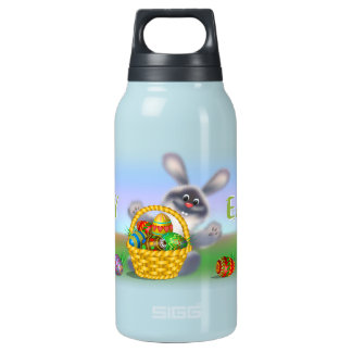 Easter Bunny Insulated Water Bottle