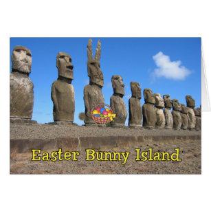 Easter bunny joke gifts on zazzle au easter bunny island card negle Choice Image