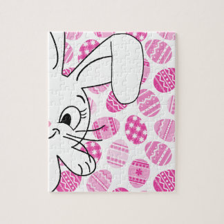 Easter bunny jigsaw puzzle