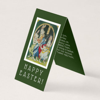 Easter Bunny Miniature Easter Party Invitation