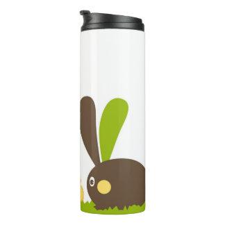 Easter Bunny Modern Twist Design Thermal Tumbler