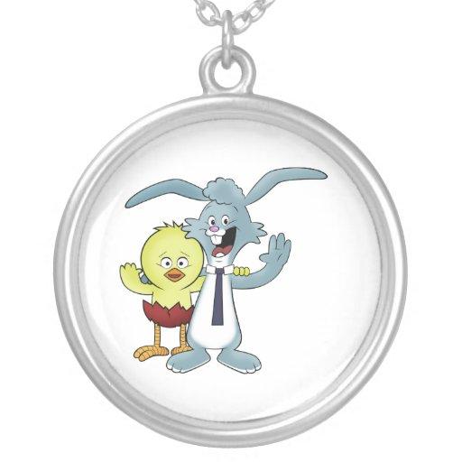 easter bunny pendants