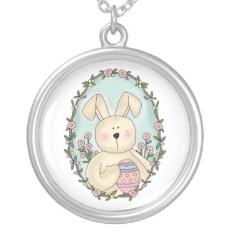 Easter Bunny Personalized Necklace