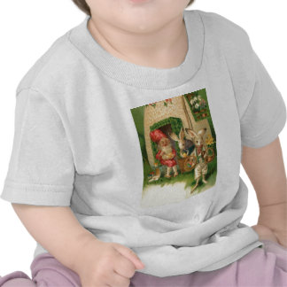 Easter Bunny Painted Colored Egg Flower Gnome Shirt