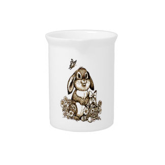 Easter Bunny Pitcher