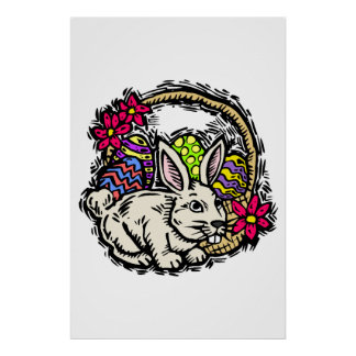 Easter Bunny Posters