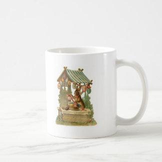 Easter Bunny Roadside Egg Stand Coffee Mug