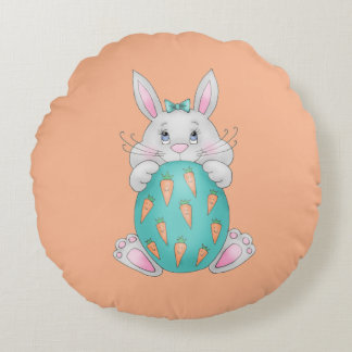 Easter Bunny Round Cushion