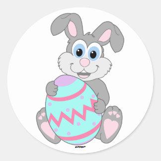 Easter Bunny Round Sticker