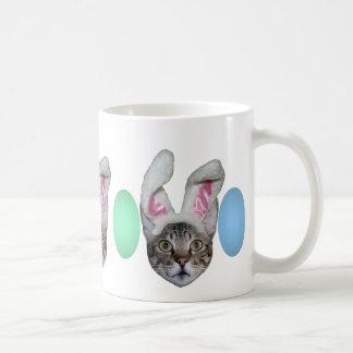 Easter Bunny Savannah Cat Mugs