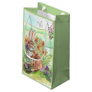 Easter Bunny Spring Small Gift Bag