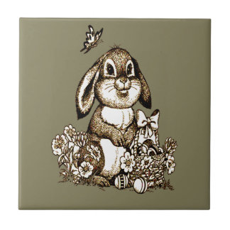 Easter Bunny Tile