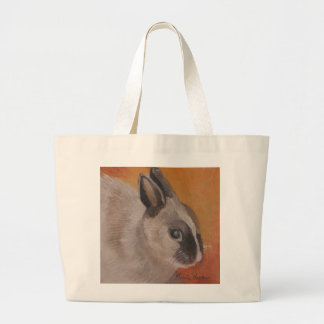 Easter Bunny Tote Bag by Marie Theron (giant size)