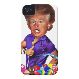 easter bunny trump iPhone 4 Case-Mate case