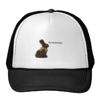 EASTER BUNNY WITH ATTITUDE TEMPLATE CAP