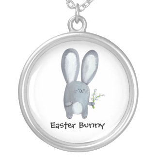 Easter Bunny with catkins Jewelry