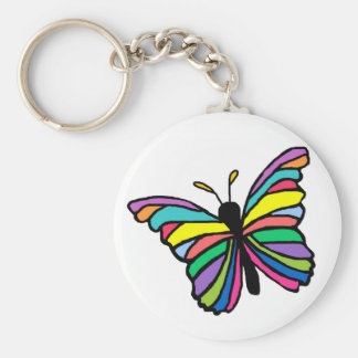 Easter butterfly  key chain