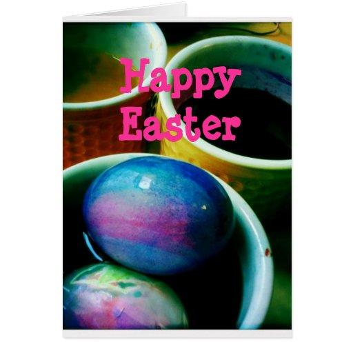 Easter card~  Eggcellent Easter Decorating Eggs
