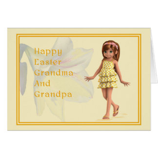 Easter for grandparents gifts t shirts art posters other easter card for grandparents negle Gallery