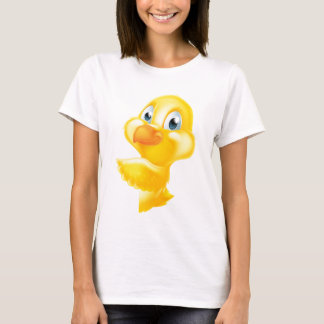 Easter Cartoon Chick Sign T-Shirt