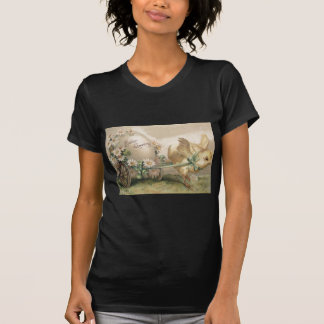 Easter Chick Egg Carriage Daisy T-Shirt
